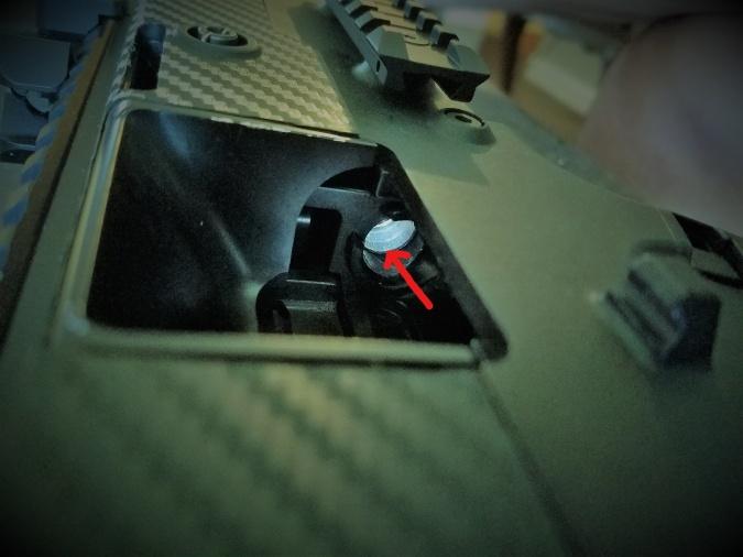 casing inside chamber